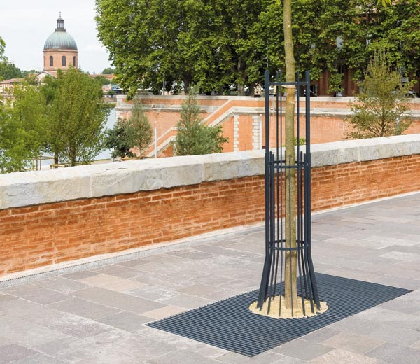 Area - Tree guard and stake - Alicante