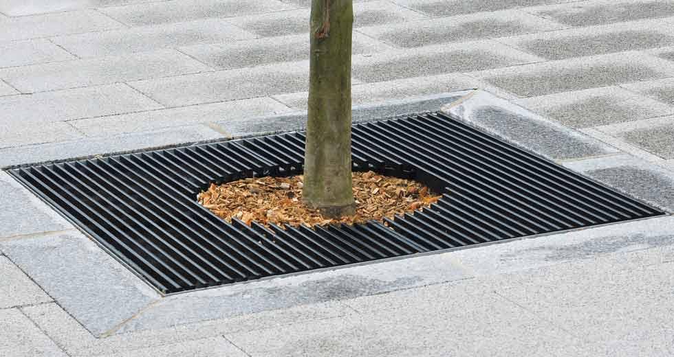 Area - Tree grate - Boston