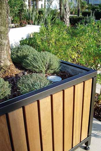 Area - Planter - Mazagan bois 110