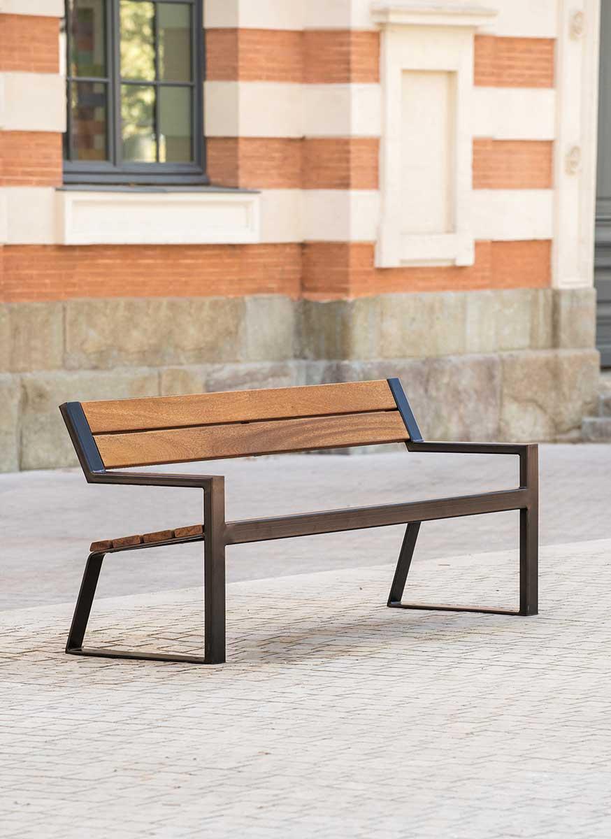 Berlin Bench Ar 233 A Street Furniture