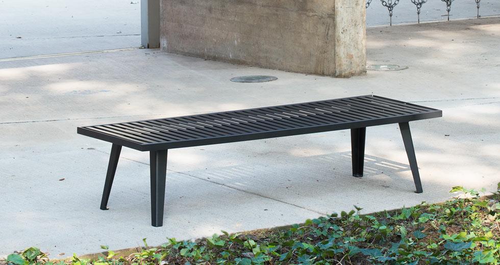 Area - Backless bench - Atlanta