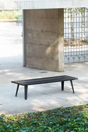 Area - Backless bench - Atlanta