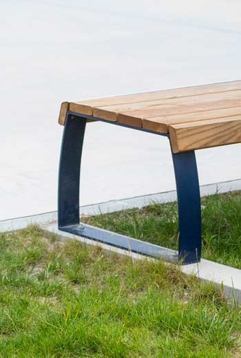 Area - Backless bench - Berne