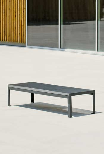 Area - Backless bench - Sienne