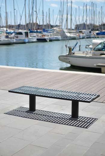 Area - Backless bench - Toronto