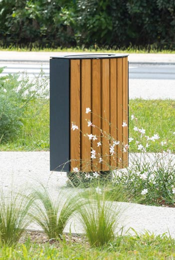 Area - Litter receptacle - BAMBOU