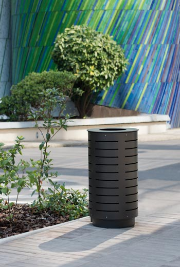Area - Litter receptacle - Marguerite