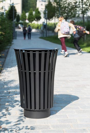 Area - Litter receptacle - Narcisse