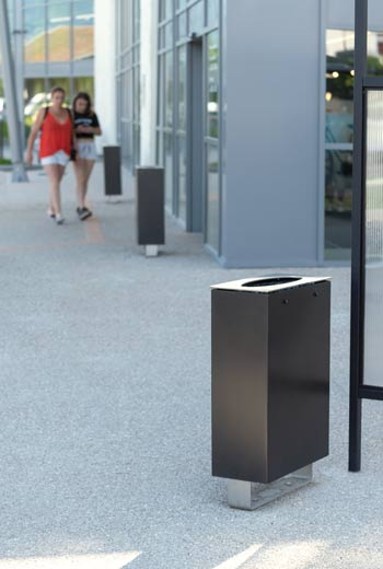 Area - Litter receptacle - Virginie