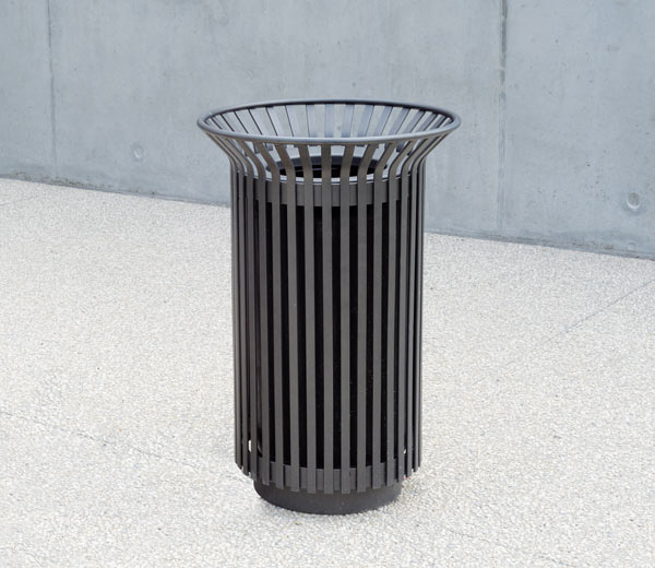 Area - Litter receptacle - Tulipe