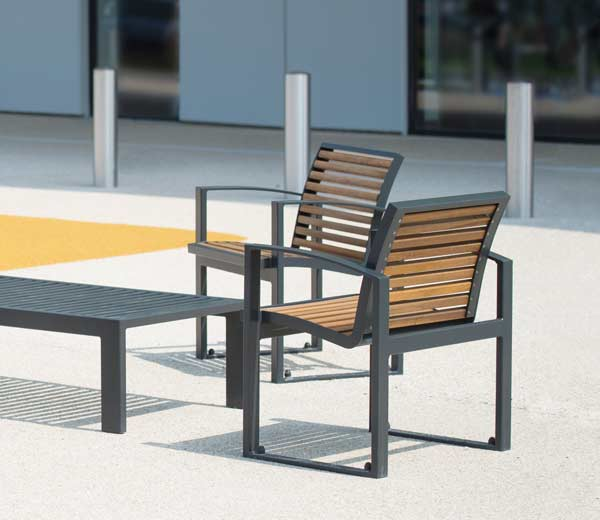 Area - Seat and armchair - Newport bois