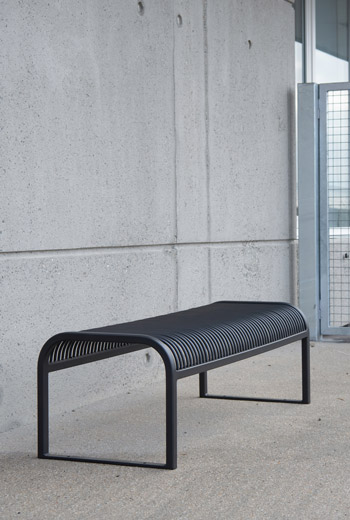 Area - Backless bench - Nice