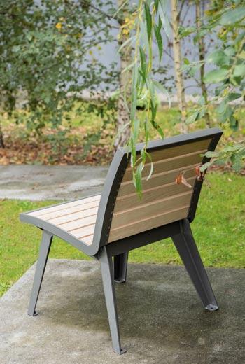 Area - Seat and armchair - Montréal bois