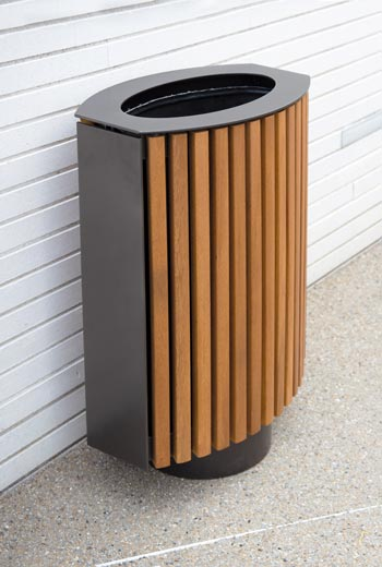 Area - Litter receptacle - Coquelicot